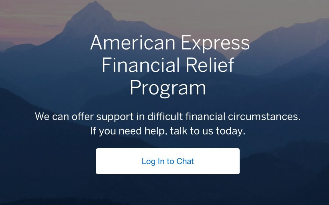 New Amex Financial Relief Program